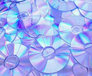 cd, purple, and grunge image