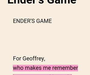 book quotes, ender's game, and orson scott card image