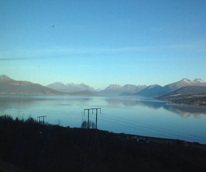 beautiful, blue, and fjord image