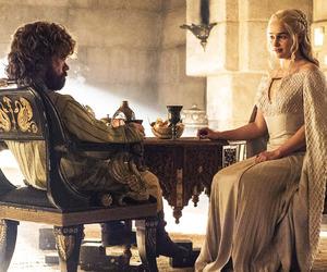 game of thrones and daenerys targaryen. image