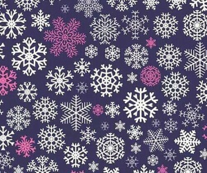 blue, december, and snowflakes image