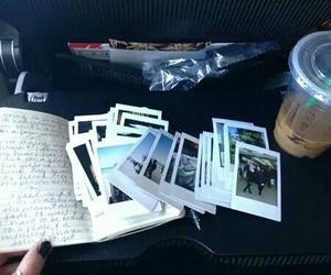 photo, polaroid, and starbucks image