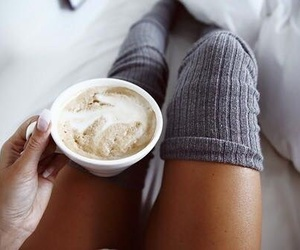 coffee, fashion, and cozy image