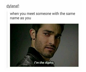 teen wolf, derek hale, and alpha image