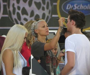 louis tomlinson, lottie tomlinson, and lou teasdale image