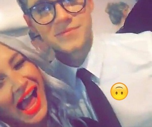 lou teasdale and niall horan image