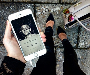 fashion, iphone, and the weeknd image