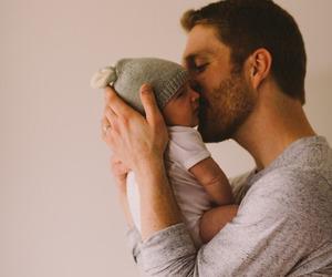 children, father, and fotografia image