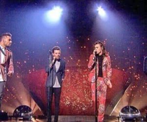 xfactor, Harry Styles, and liam payne image