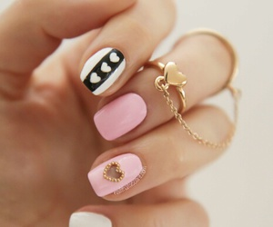 nails, pink, and rosa image
