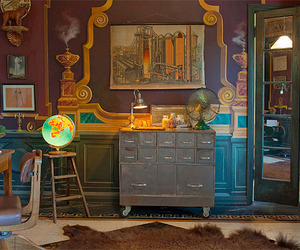 antique, artsy, and books image