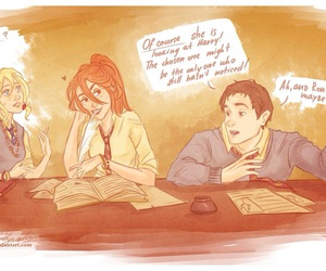 harry potter, ginny weasley, and hinny image