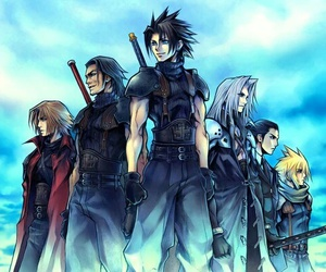 cloud strife, final fantasy, and Sephiroth image