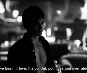 love, quotes, and damon salvatore image