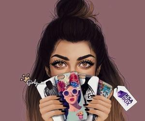 girly_m, drawing, and girly image