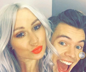 Harry Styles, one direction, and lou teasdale image