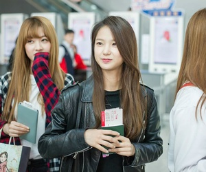 crystal clear, clc, and seunghee image