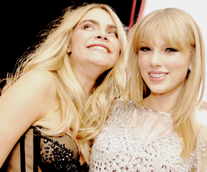 Taylor Swift and cara delevingne image