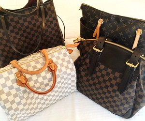 handbags, Louis Vuitton, and verona image