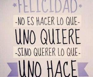 felicidad, frases, and frases en español image