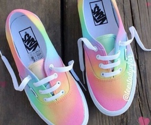 pastel, brand name, and vans image