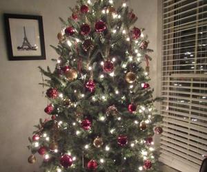 christmas, christmas tree, and festive image