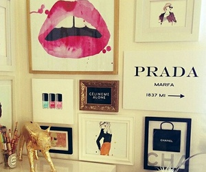 Prada, chanel, and room image