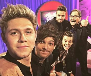alan carr, liam payne, and niall horan image