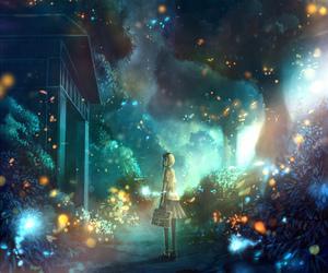 anime, art, and scenery image