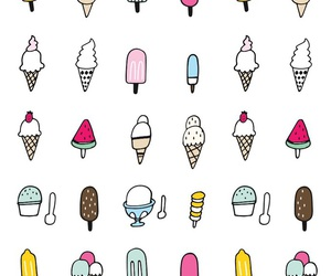 wallpaper, ice cream, and background image
