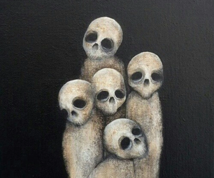art, gothic, and macabre image