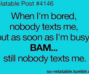 text, funny, and busy image