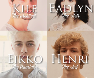 book, the selection, and the heir image