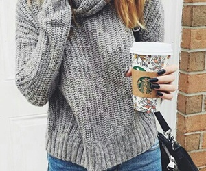 style, sweater, and christmas image