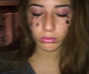 makeup, pink lips, and human barbie image
