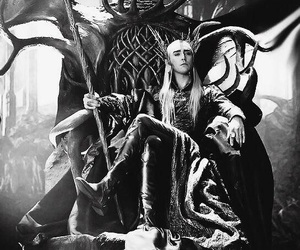 thranduil, the hobbit, and elf image