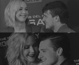 Jennifer Lawrence, josh hutcherson, and thg image