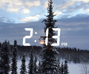 alaska, christmas, and sky image