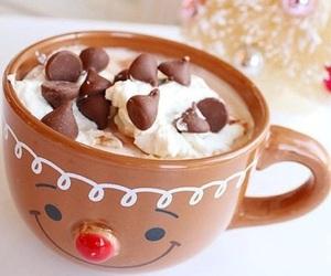 christmas, chocolate, and winter image