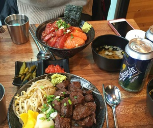 beef, food, and japanese image