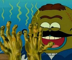 dirty, hands, and spongebob image