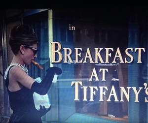 audrey hepburn and Breakfast at Tiffanys image