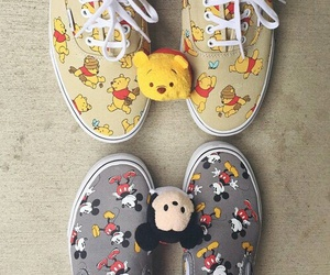 shoes, disney, and vans image