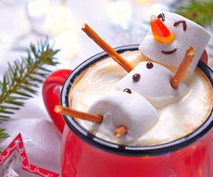 christmas, Hot, and snowman image