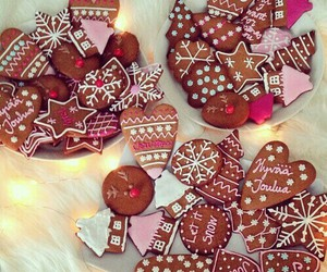 christmas, Cookies, and food image