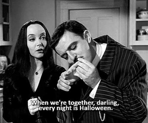 addams, addams family, and couple image