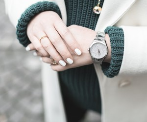 fashion, watch, and winter image