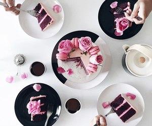 cake, chocolate, and pancakes image