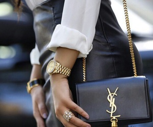 fashion, YSL, and luxury image