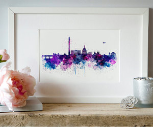 etsy, city art, and downloadable art image